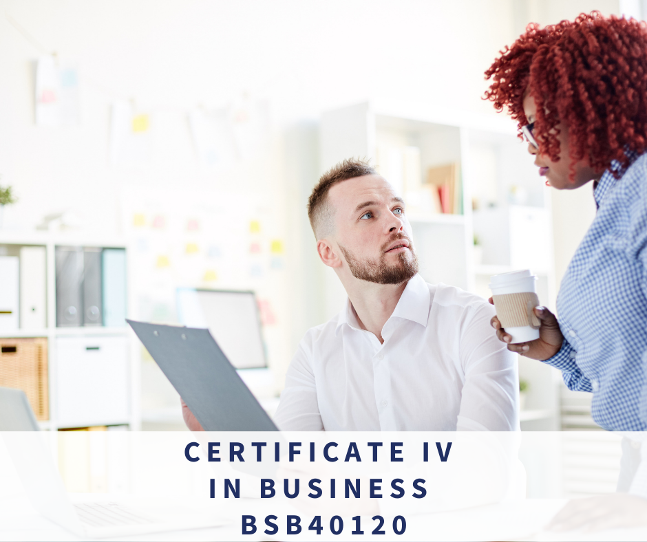 Certificate IV In Business BSB40120